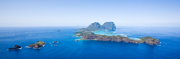 Lord Howe Island - photograph courtesy of Ken Lees