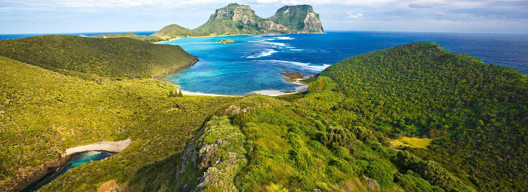 Map Australia Showing Lord Howe Island